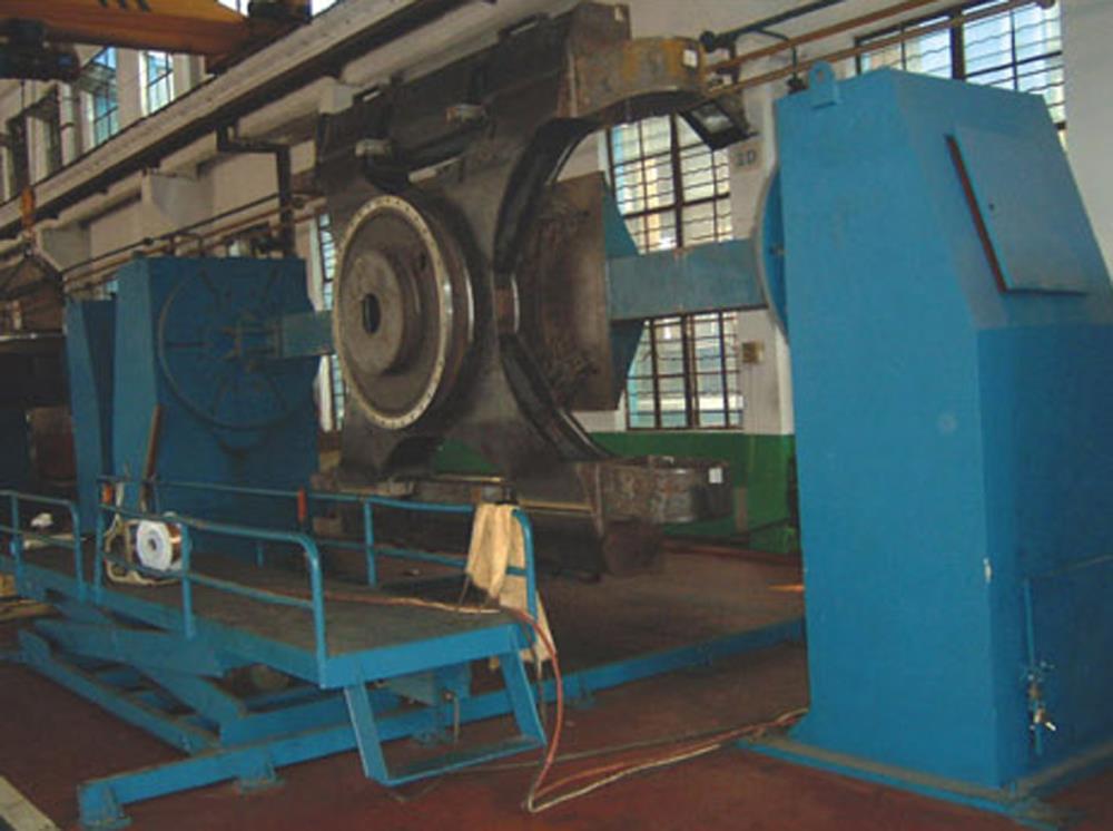 哈尔滨单回转焊接变位机