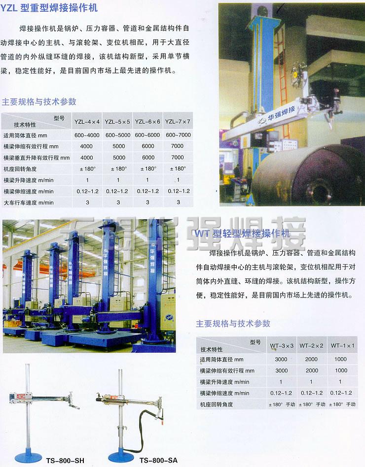 哈尔滨重型焊接操作机