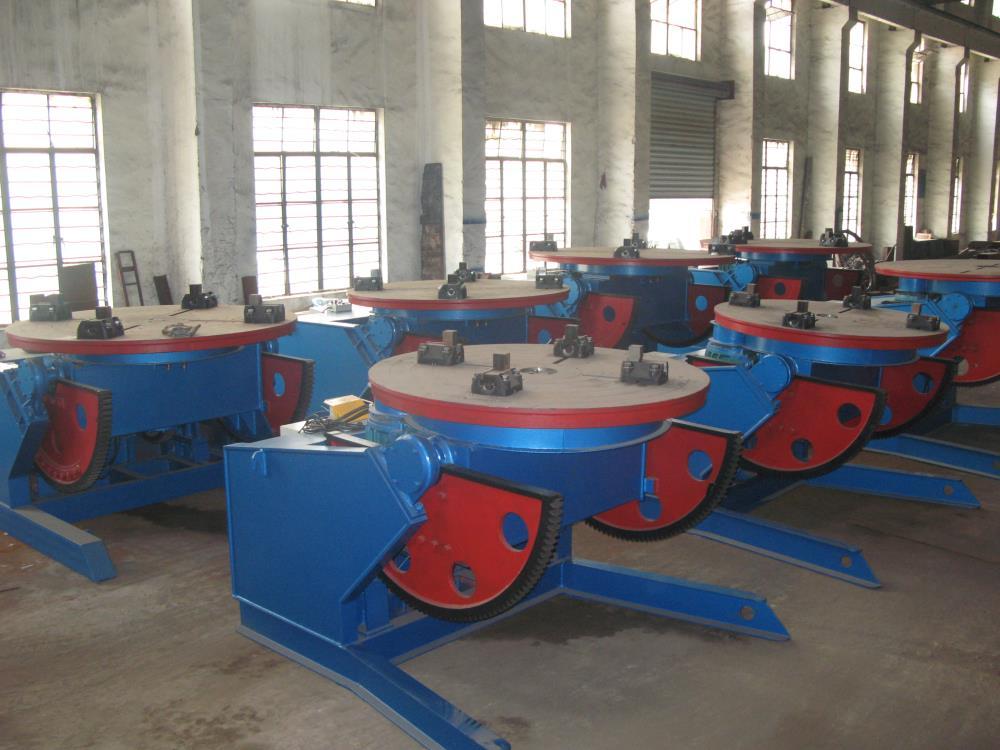 焊接变位机选用一定要遵守的5种原则