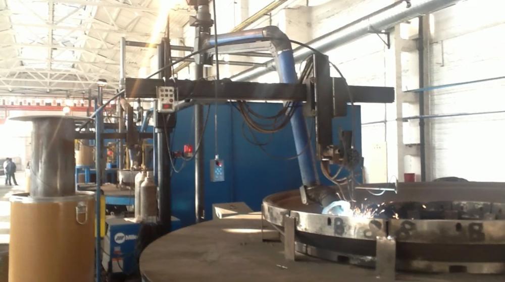 轧辊堆焊设备